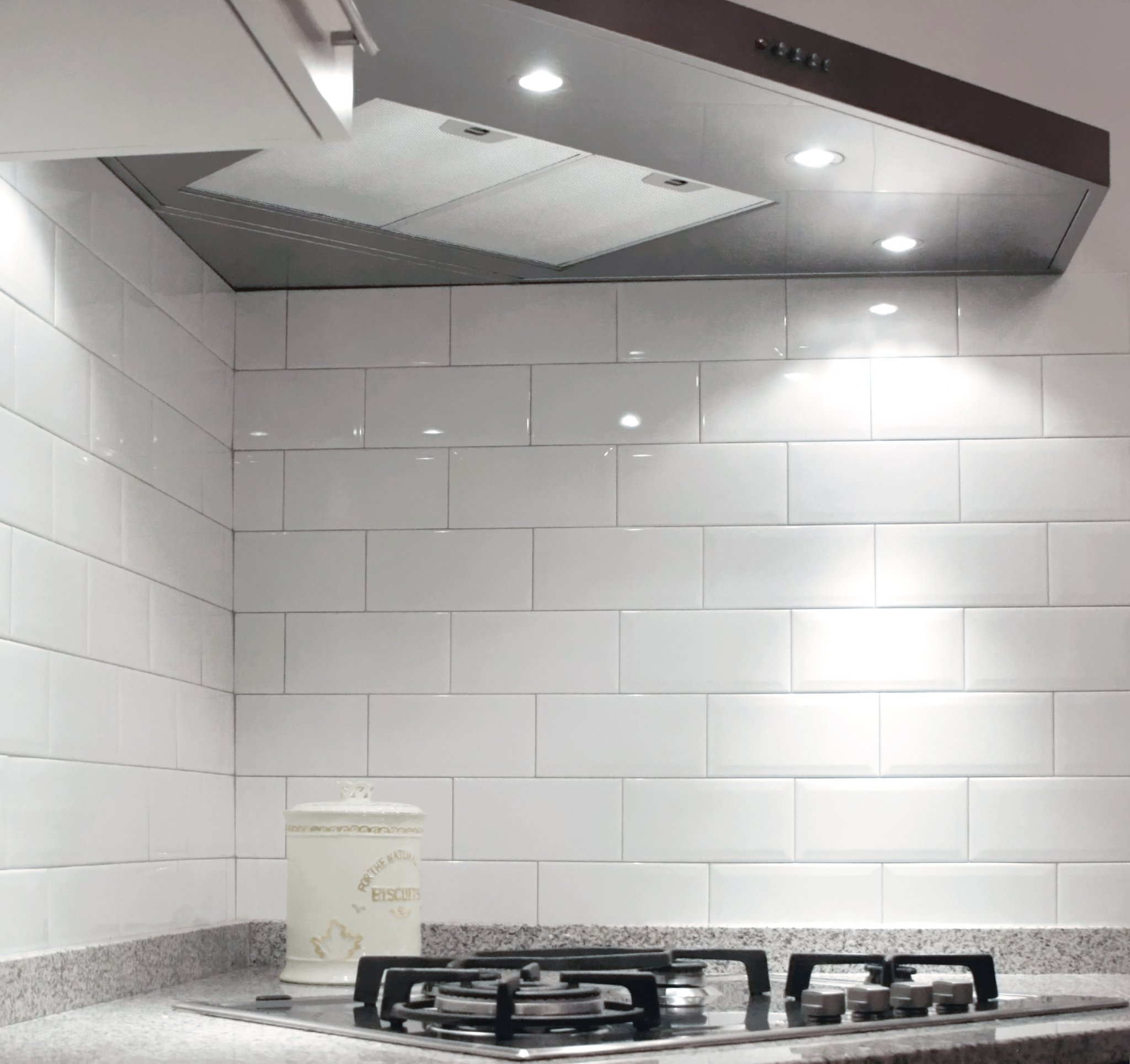 diamante rivestimento cucina bianco mosaico 2 - Moda Ceramica