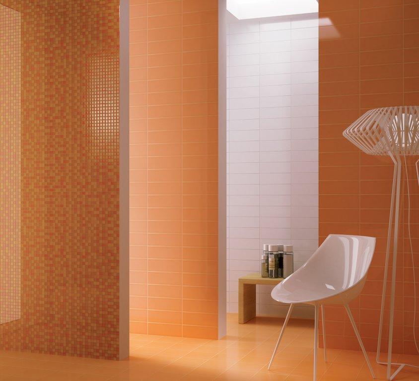 Pavimenti e rivestimenti per il bagno moda ceramica - Piastrelle bagno marrone ...
