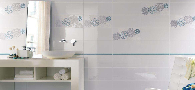 Serie one pavimenti e rivestimenti moda - Rivestimento bagno bianco ...