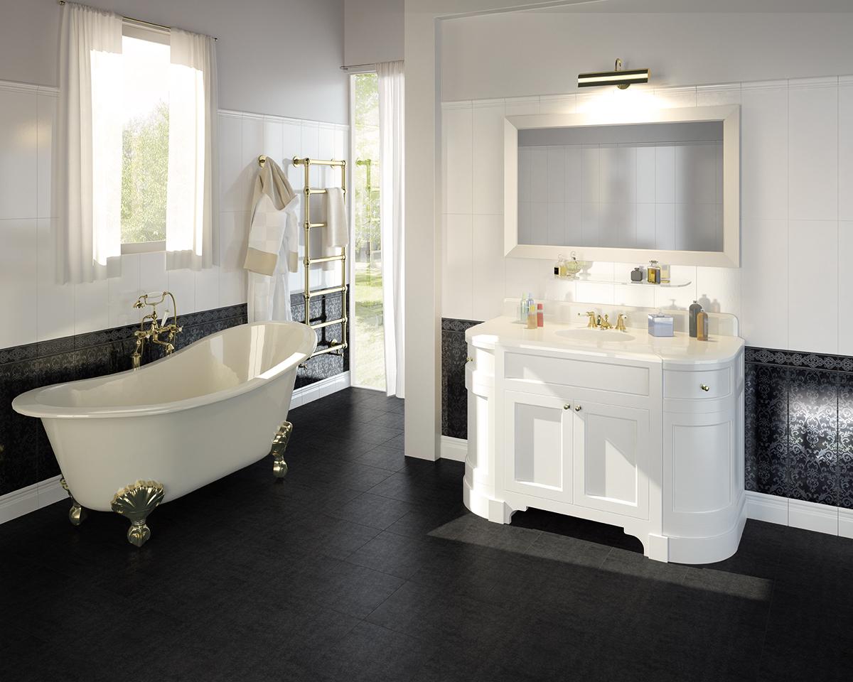 Vogue rivestimento bagno bianco wall moda ceramica