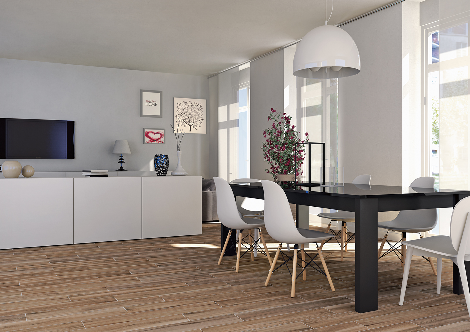 Piastrelle Effetto Legno Tortora : Serie flora pavimenti e rivestimenti moda