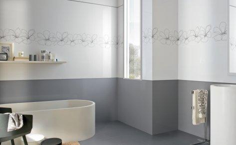 Serie phormae pavimenti e rivestimenti moda - Rivestimento bagno grigio ...