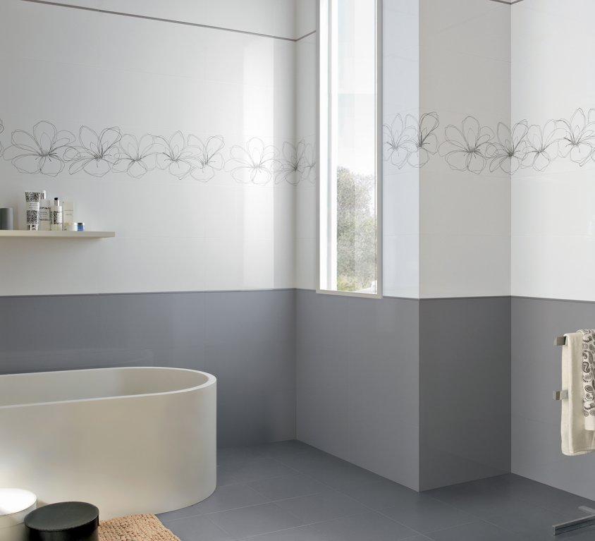 Pavimenti e rivestimenti per il bagno moda ceramica - Rivestimenti piastrelle bagno ...