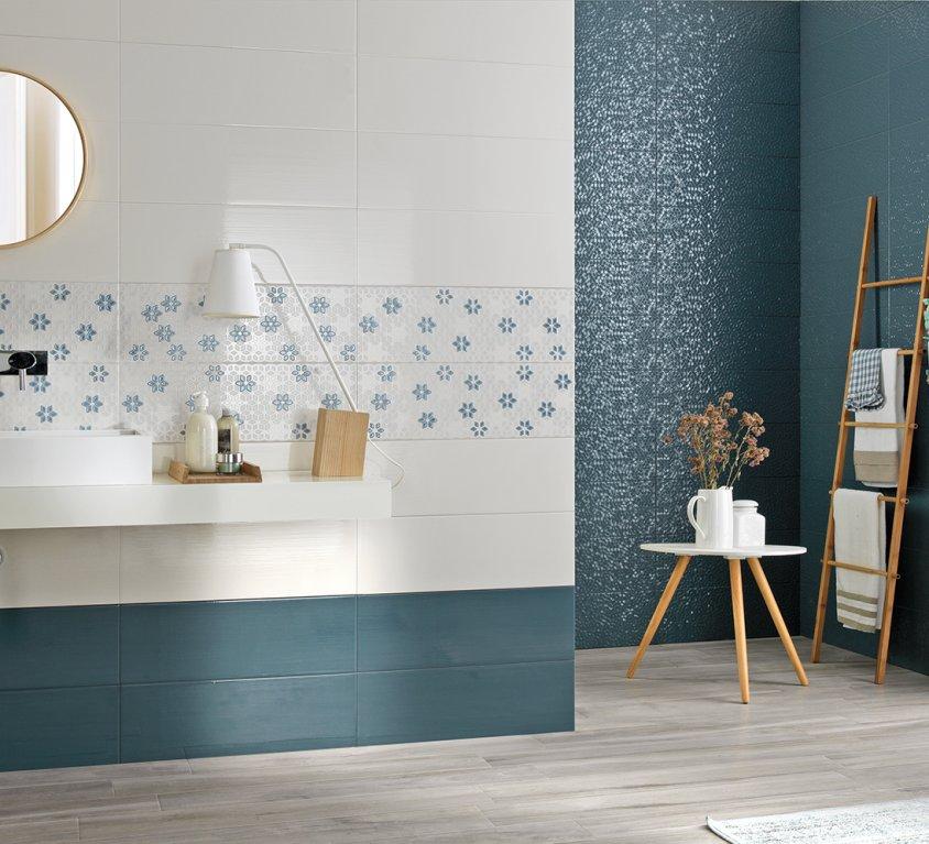 Pavimenti e rivestimenti per il bagno moda ceramica - Piastrelle viola bagno ...