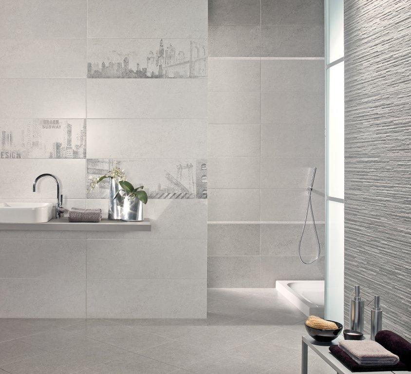 Moda ceramica pavimenti e rivestimenti bianco - Rivestimento bagno bianco ...
