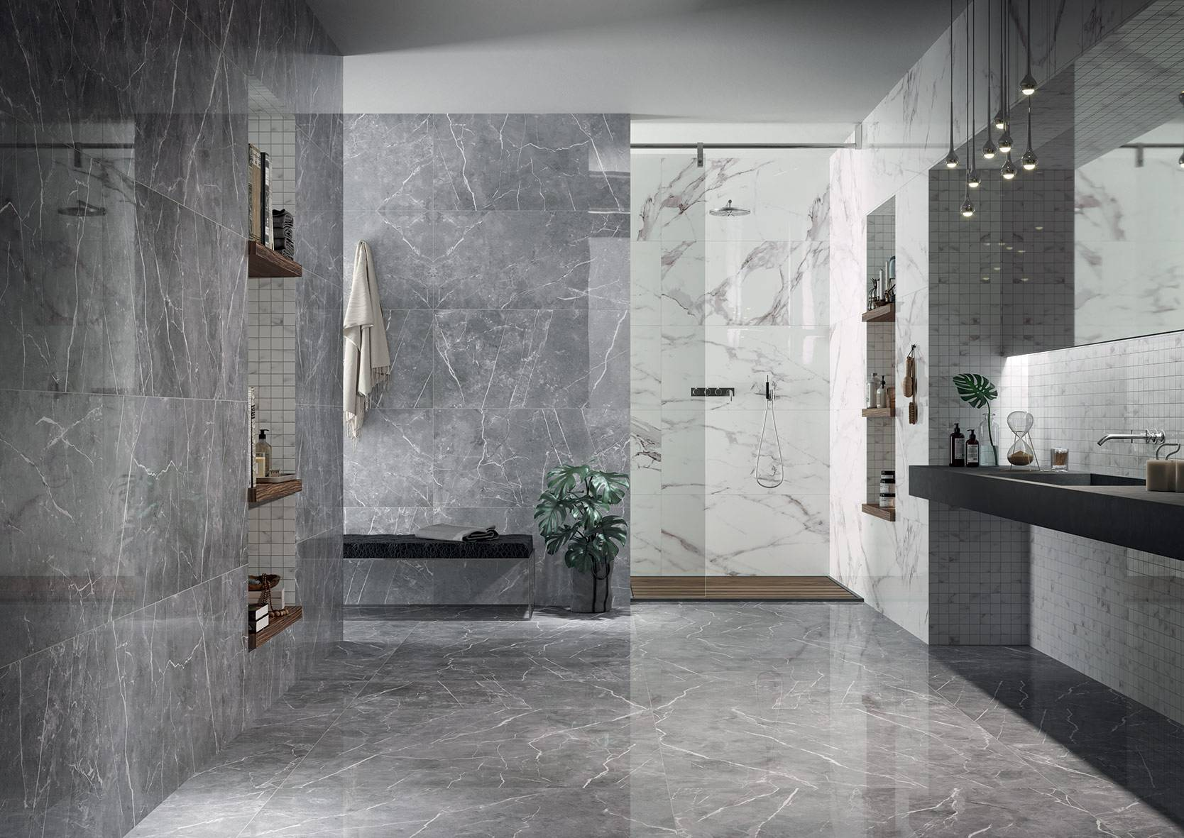 Rivestimenti Bagno Nero : Serie gratia pavimenti e rivestimenti moda
